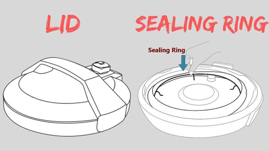 Lid and Sealing ring of electric pressure cooker