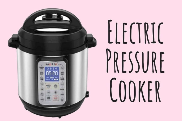 How to Use Electric Pressure Cooker [Beginner's Guide]