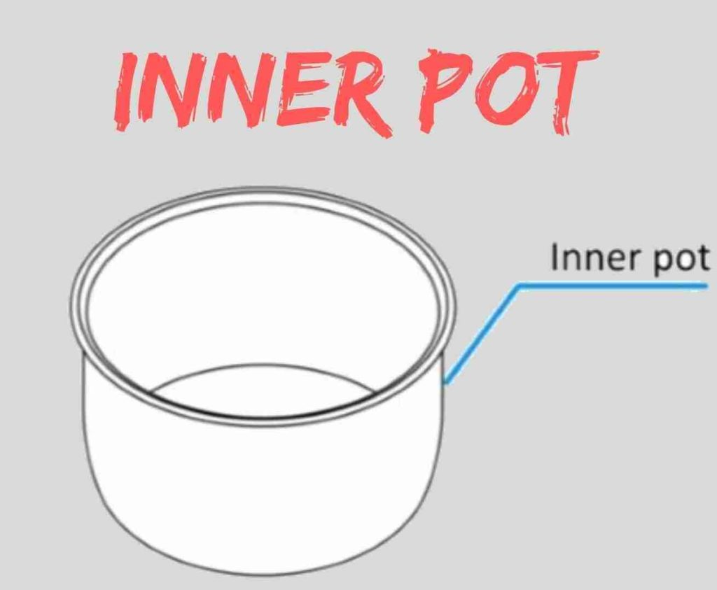 electric pressure cooker inner pot