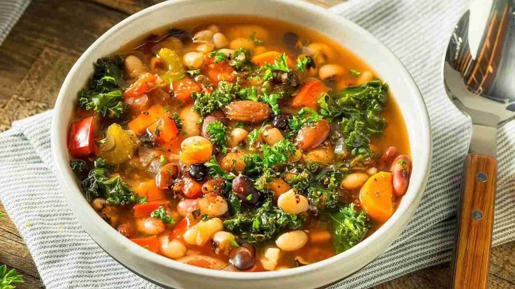Cook beans in pressure cooker