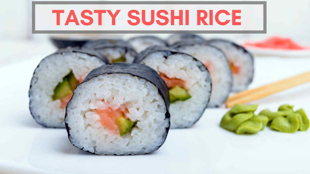 how to cook sushi rice in a rice cooker