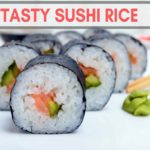 how to cook sushi rice in a rice cooker - featured