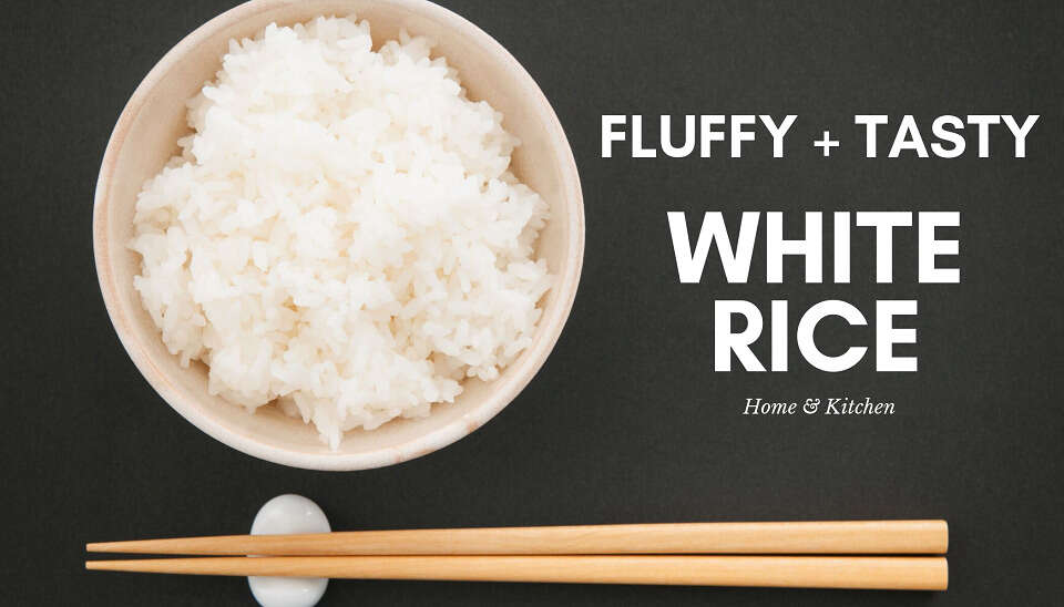 how to cook white rice in a rice cooker