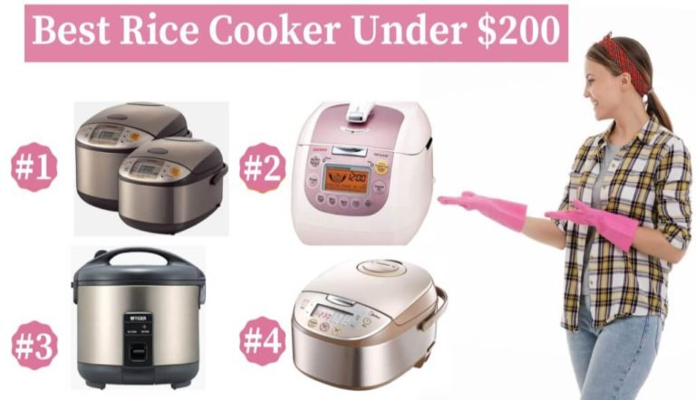 Best Rice Cooker Under 200 Reviews 2020