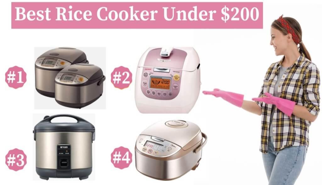 Best Rice Cooker Under 200