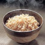 Special brown rice menu setting