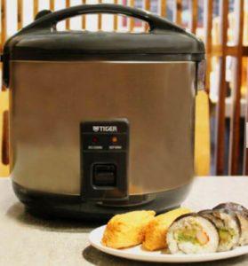 Tiger JNP-S10U-HU rice cooker 2