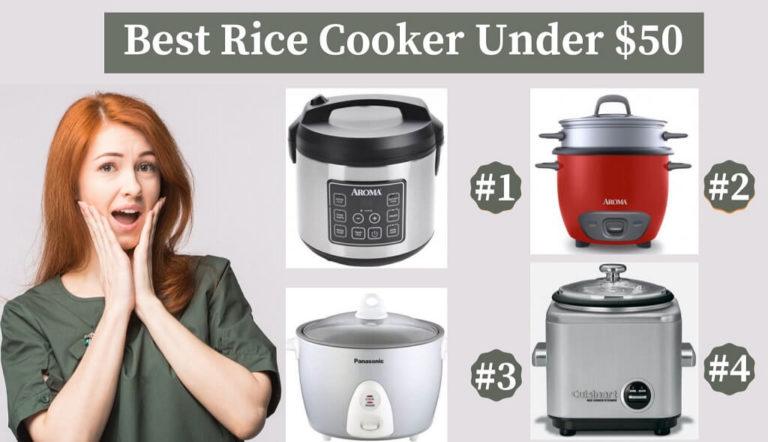 Best Rice Cooker Under 50 Reviews (2020)