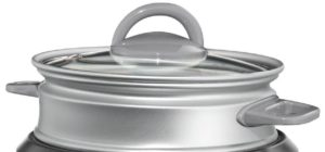 Oster Rice Cooker (CKSTRCMS65) glass lid & steamer basket