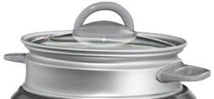 Oster Rice Cooker (CKSTRCMS65) glass lid & steamer basket