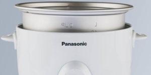 Panasonic Rice Cooker Non-Stick Aluminum Inner Pan