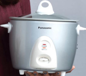 Panasonic Rice Cooker (SR-G06FGL) Automatic Cooking