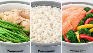 Panasonic Rice Cooker (SR-G06FGL) Cooking