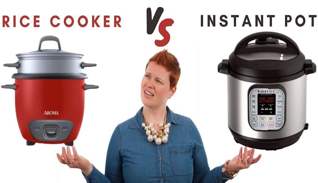 rice cooker Vs instant pot
