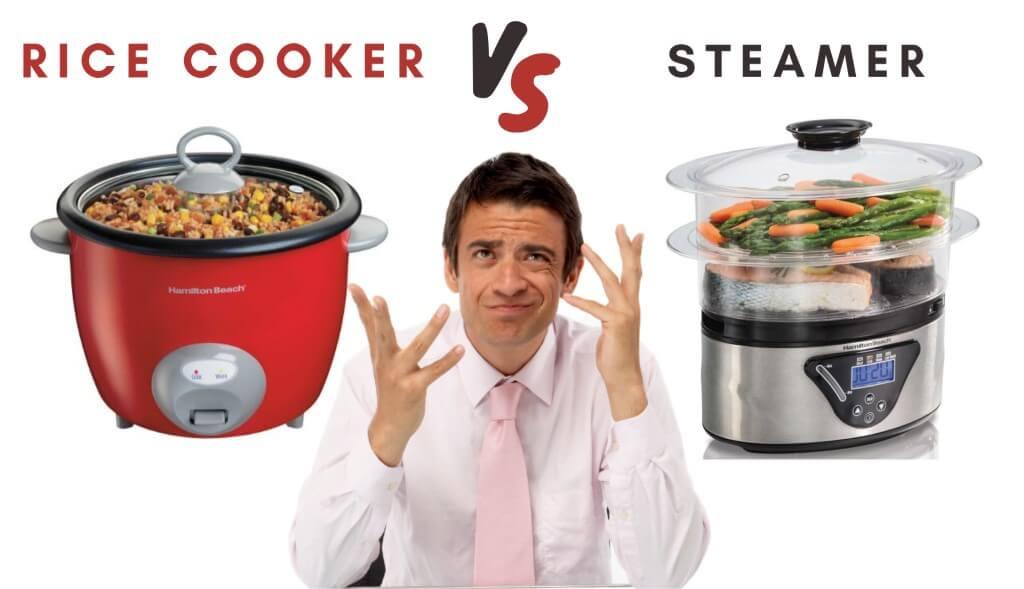 rice cooker vs steamer