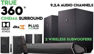 Nakamichi Shockwafe Ultra 9.2.4 Surround Sound System 0