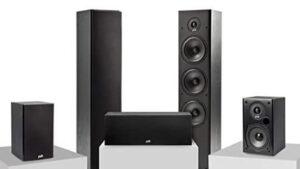 Polk Audio T Series 5 Channel Home Theater Surround Sound System