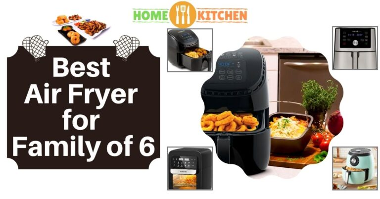 Best Air Fryer for Family of 6