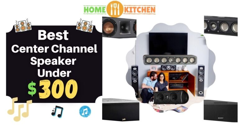 Best Center Channel Speaker Under 300$