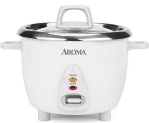 AROMA HOUSEWARE STAINLESS RICE COOKER ARC-753SG