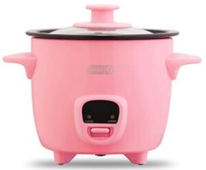 DASH DRCM200GBPK04 MINI RICE COOKER AND STEAMER