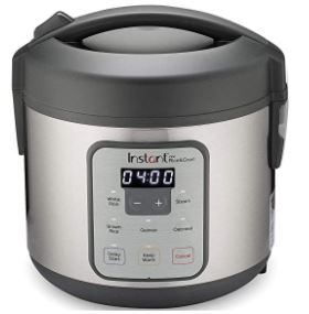 INSTANT ZEST RICE COOKER AND STEAMER