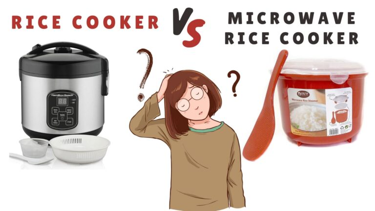 Rice Cooker VS Microwave Rice Cooker