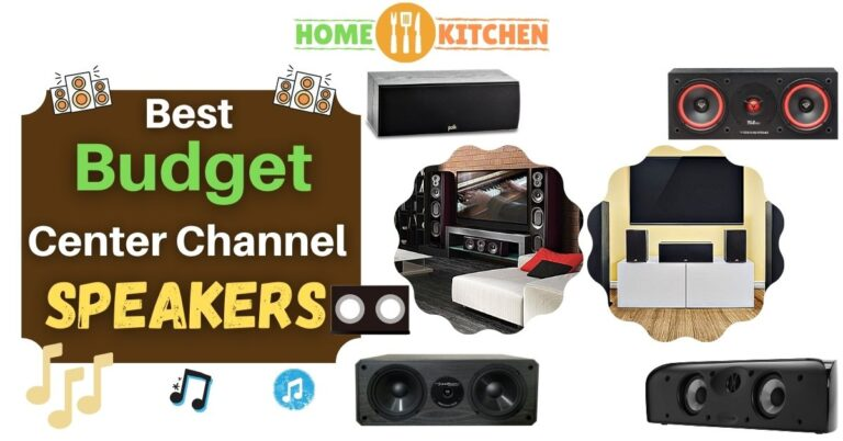 Best Budget Center Channel Speakers