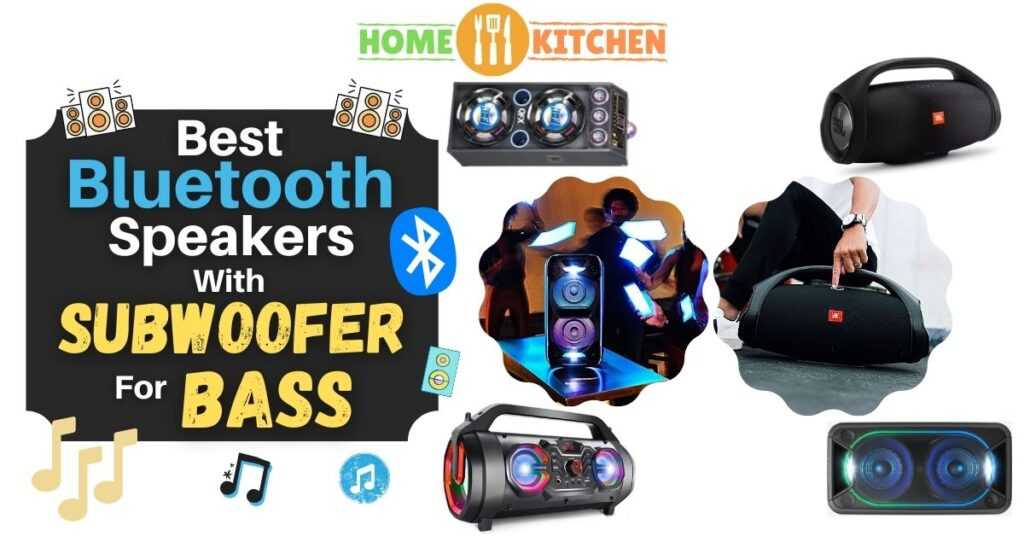 best bluetooth speakers with subwoofer for bass