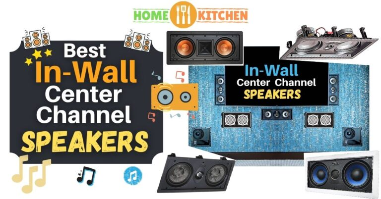 Best In Wall Center Channel Speakers