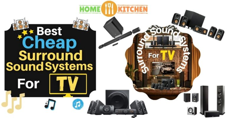 Best Cheap Surround Sound Systems for TV
