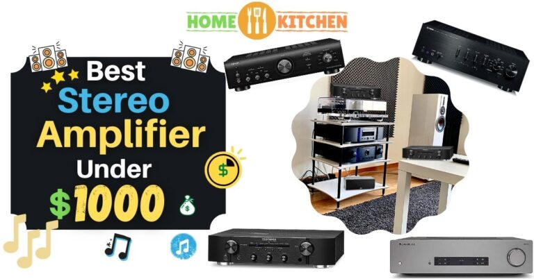 Best Stereo Amplifier Under 1000$