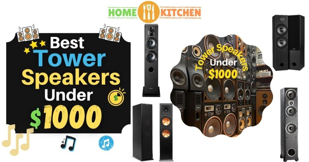 best tower speakers under 1000