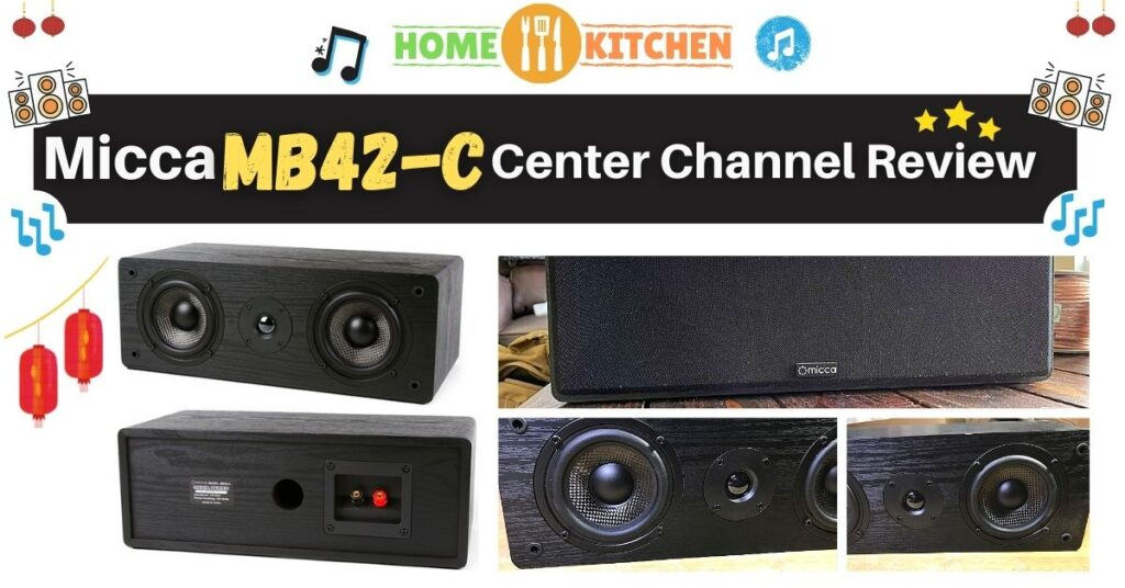 Micca MB42-C Review Budget friendly Center Channel Speaker