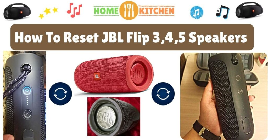 How To Reset JBL Flip 3,4, and 5 Speakers