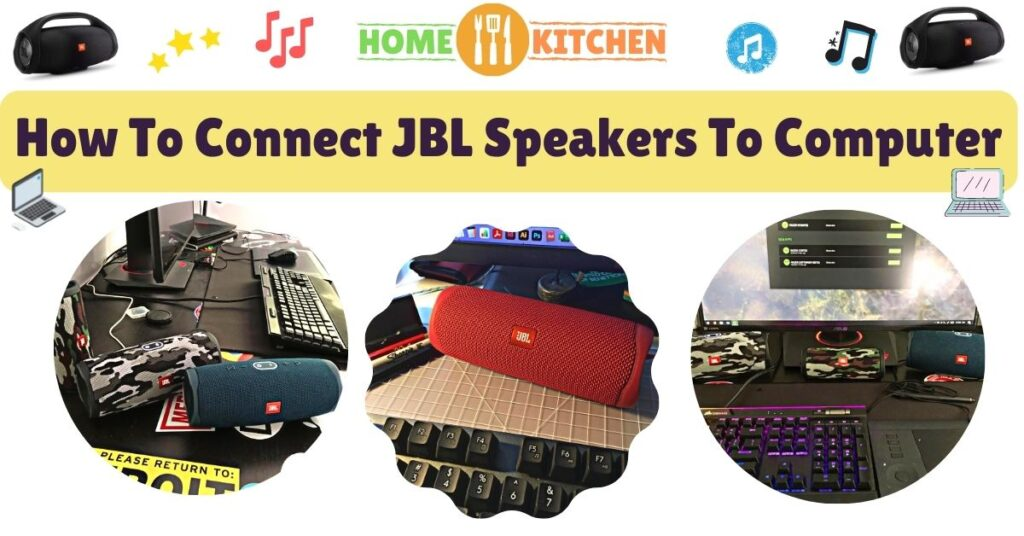 How To Connect JBL Speakers To Computer
