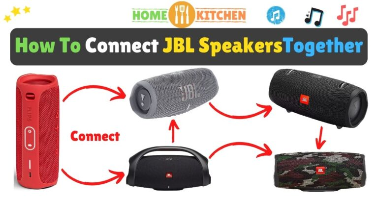 How To Connect JBL Speakers Together