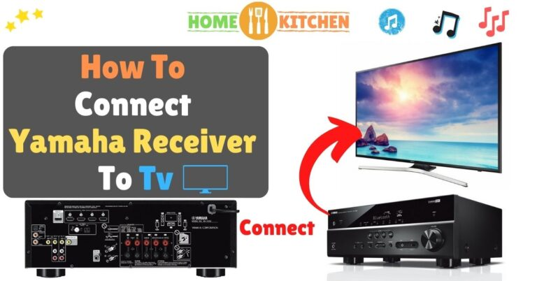 How To Connect Yamaha Receiver To Tv